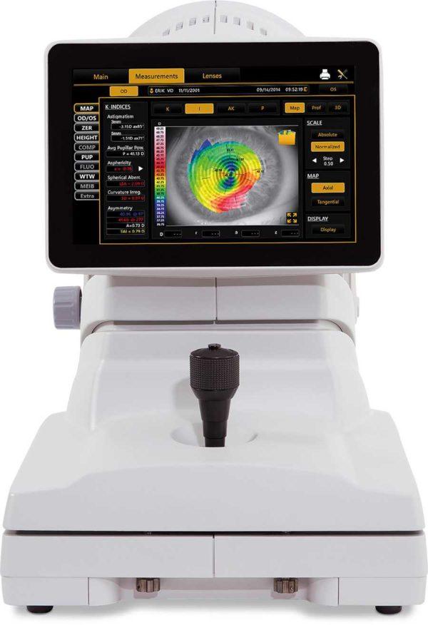 Topcon CA-800 Corneal Analyzer a