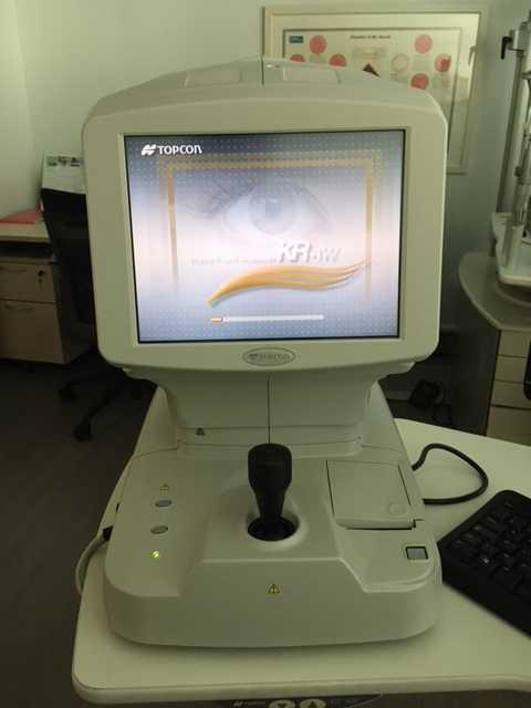 Topcon KR-1W Wavefront Analyzer g